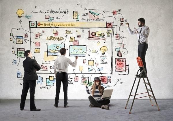 project management via web design